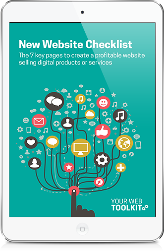 7 pages for profitable website checklist