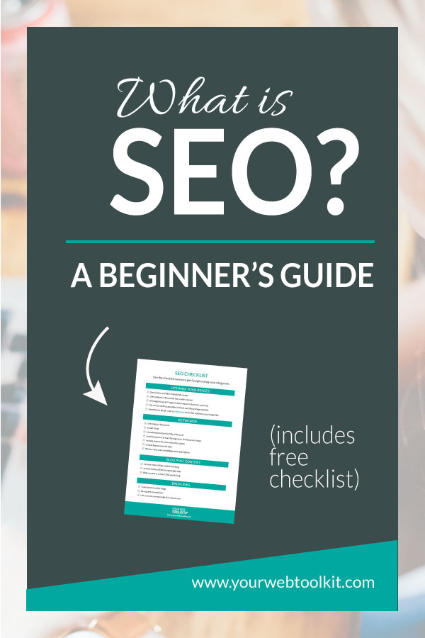 SEO checklist for bloggers and entrepreneurs