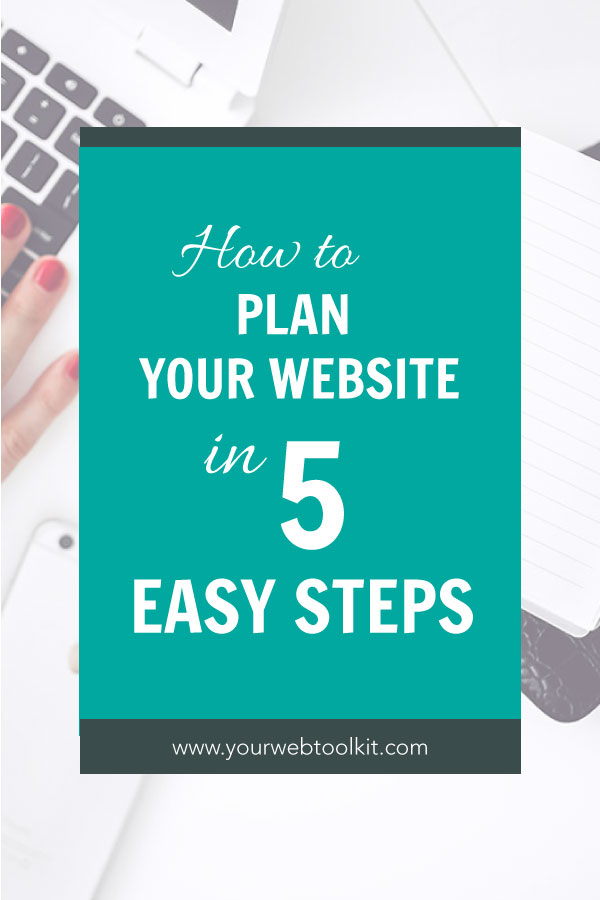 Before starting any design or content on your website, you should take the time to work out a strategic plan for the website build