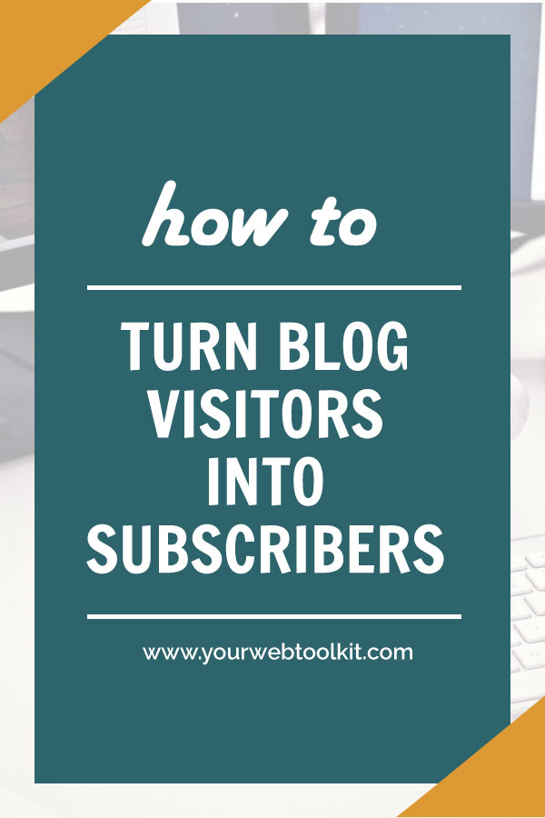 Convert website traffic into email subscribers blog header image
