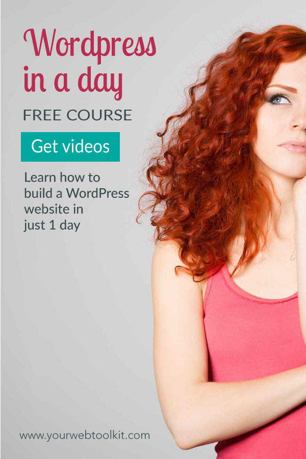 Wordpress in a Day Free Online Course