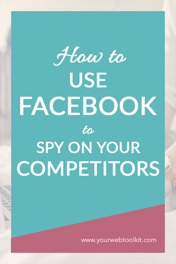 Using FB ads to work out how your competitors are targeting your audience