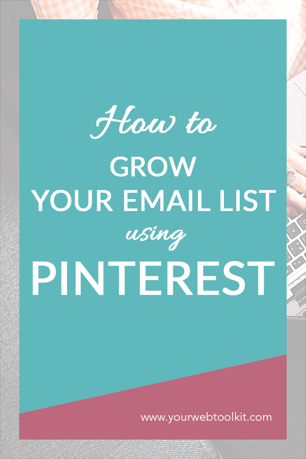 Are you interested in knowing how to grow your email list with Pinterest? This step-by-step guide shows you how to do it. Get everything set up, and you'll see an increase in website traffic. Paired with the perfect opt-in, you'll be skyrocketing your email list before you know it! Pinterest is the BOMB for sending organic traffic to your website.