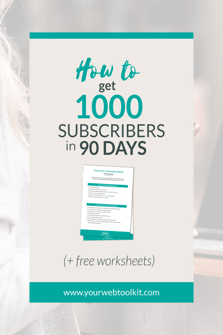 A step by step breakdown of how to go from zero to 1000 subscribers