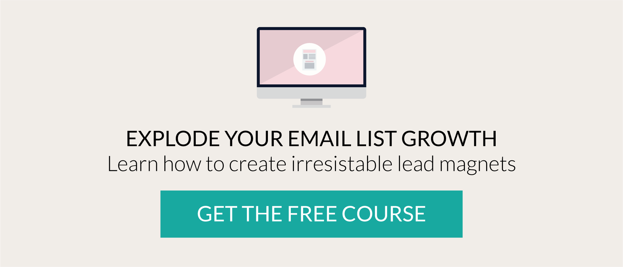 Learn how to create compelling lead magnets - free course