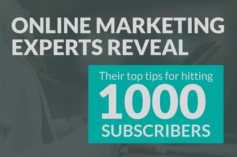 Marketing Experts Share Their List Building Tips