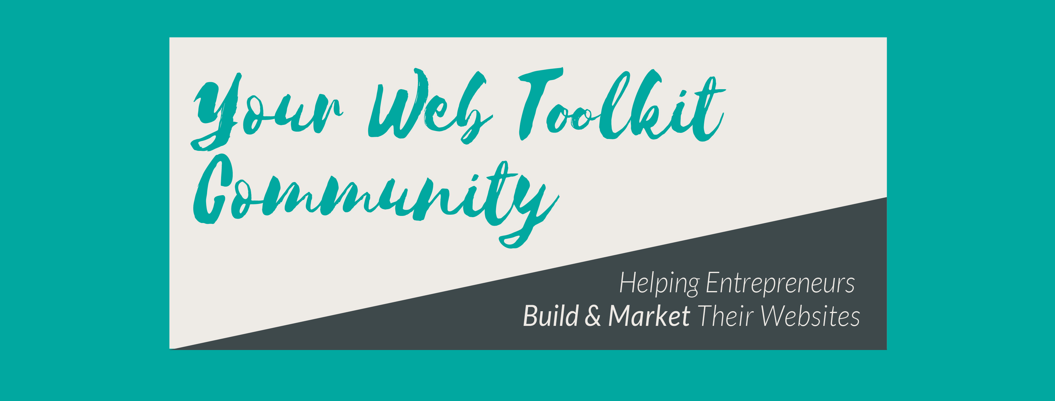 Join the Your Web Toolkit Facebook Community