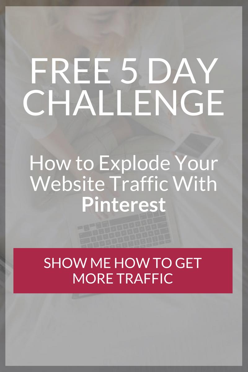 Pinterest 5 Day Challenge