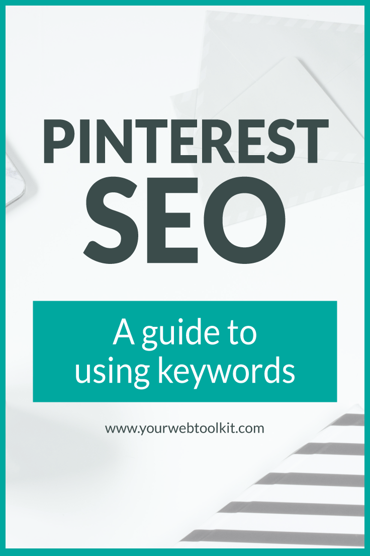 Confused by keywords on Pinterest? Let me show how to find long-tail pinterest keywords and where to put them to SEO optimise your pinning efforts. Click through to read the whole post...