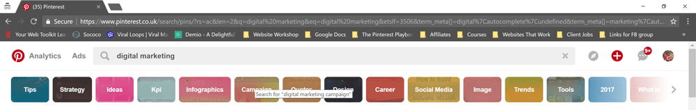 Pinterest-Search-Bar-suggested-pins