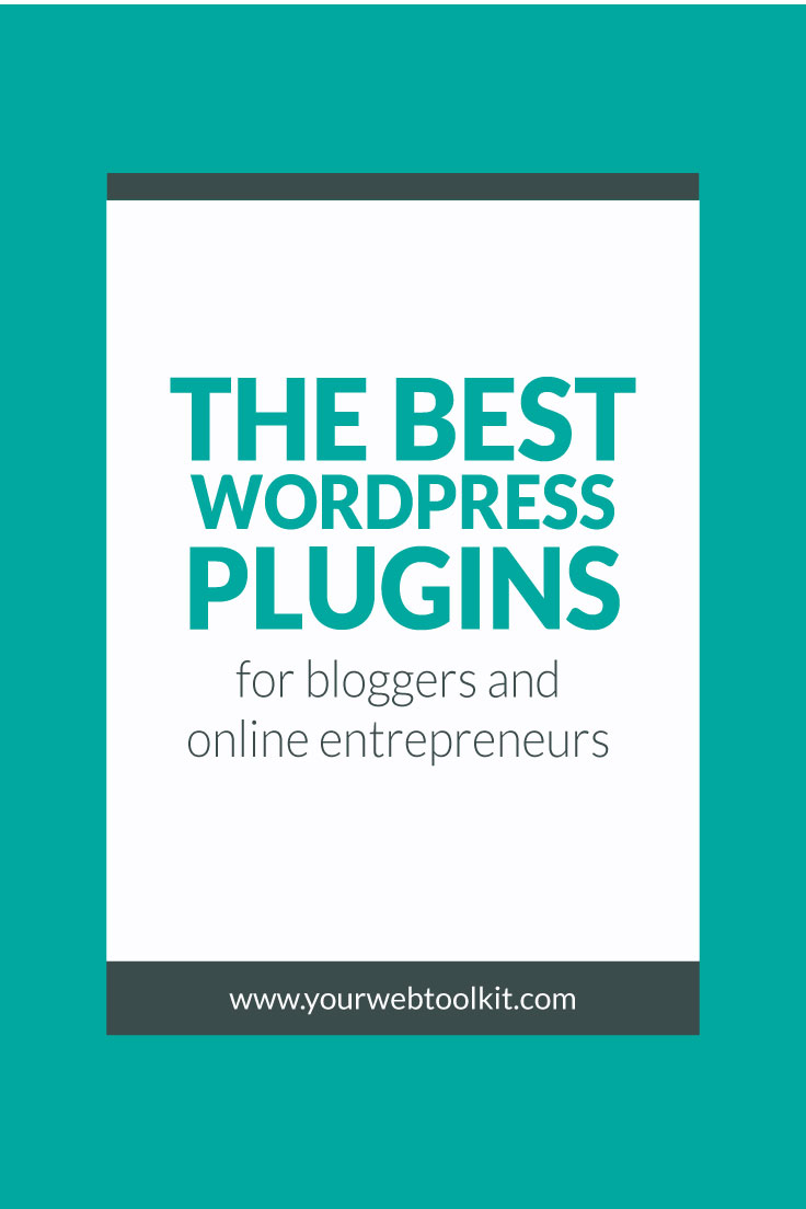 Image with text overlay: The Best WordPress Plugins for Online Entrepreneurs
