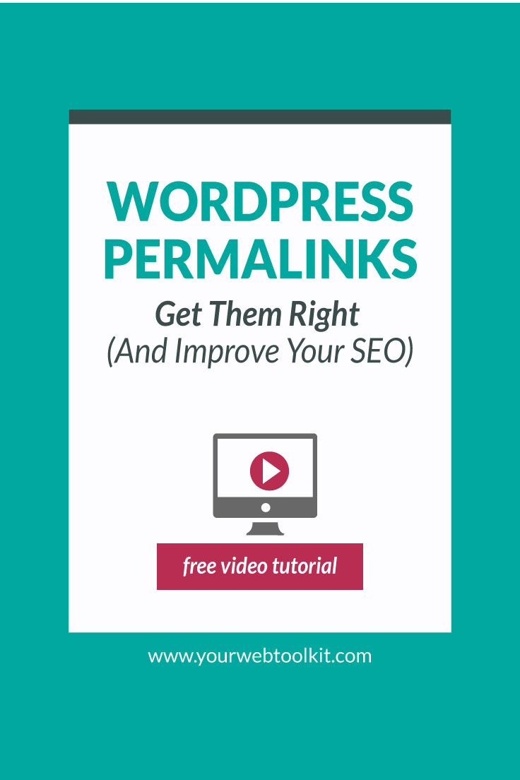 Image with text overlay: How to Update WordPress Permalinks