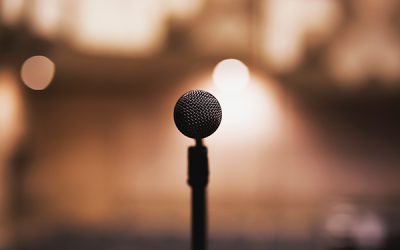 Overcoming My Fear of Public Speaking (a work in progress)
